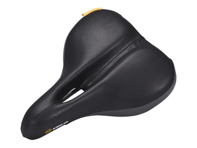 Velo Plush Komfortsattel Damen schwarz/grau